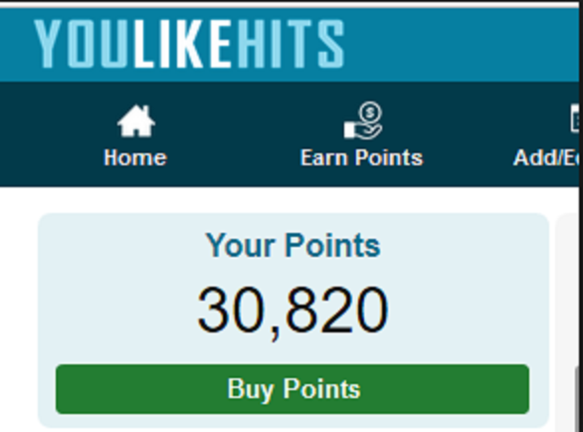 give you Youlikehits account with 20000 Points