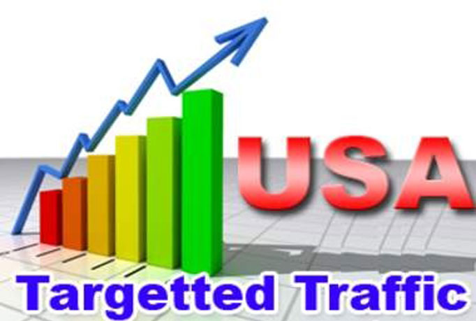 Give you 10k USA Visitors to your site with proofs