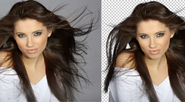 do background remove very quickly