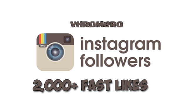 GIVE YOU 2,000  INSTAGRAM FOLLOWERS