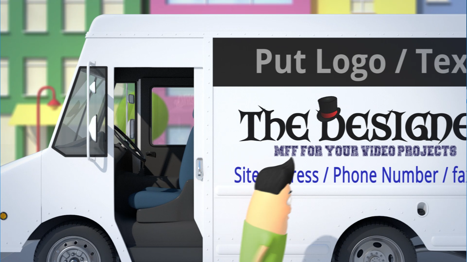 Put your Logo and message in this 3D animation video