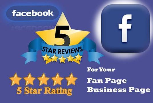 Give you 100+ Facebook 5-Star Ratings