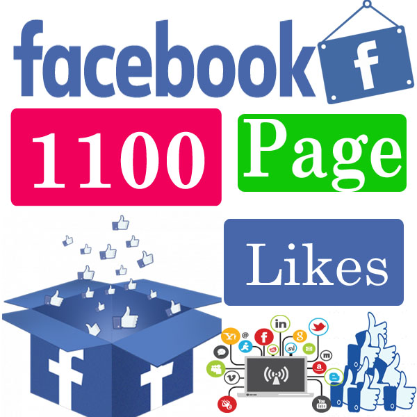 1100 facebook page likes