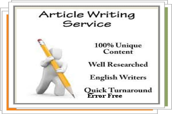 write professional article of 500 words on your choice topic
