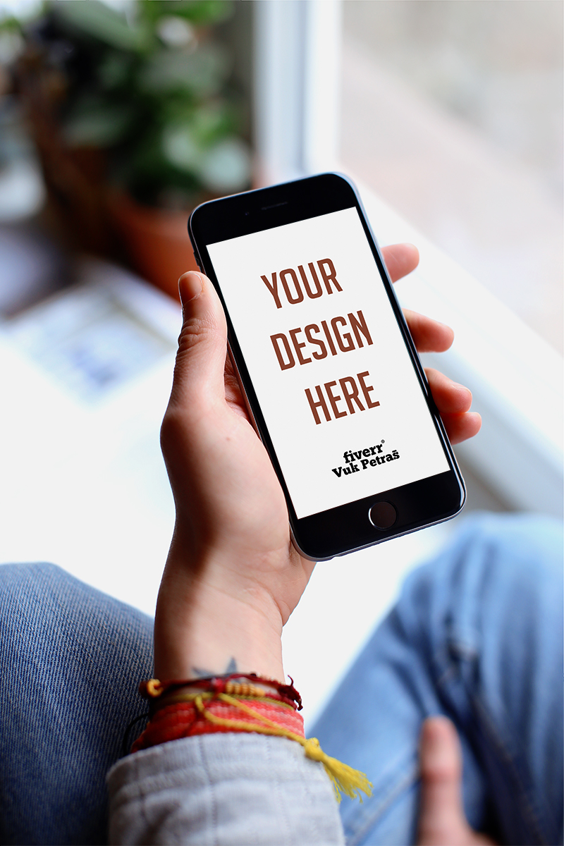 Create 5 Mockup Images On Any Phone In 24h