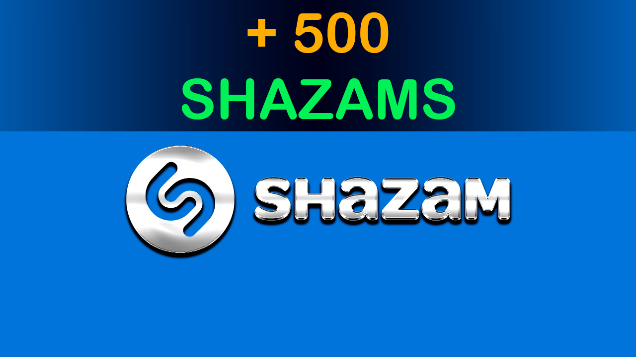 add 500 Shazams to your Song