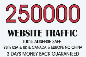 drive real high quality 200000  traffic to ur website blogs