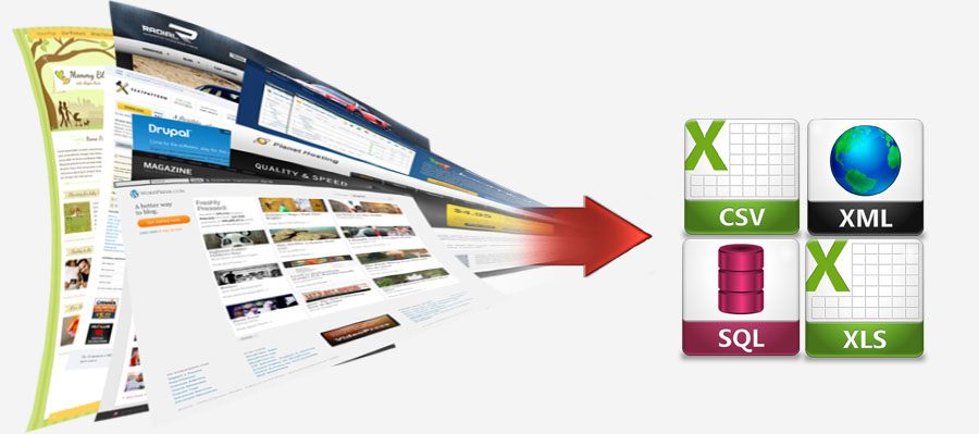 do web scraping for any websites