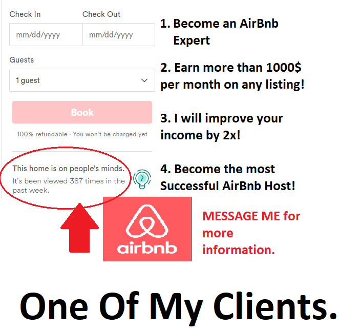 double your money on AIRBNB