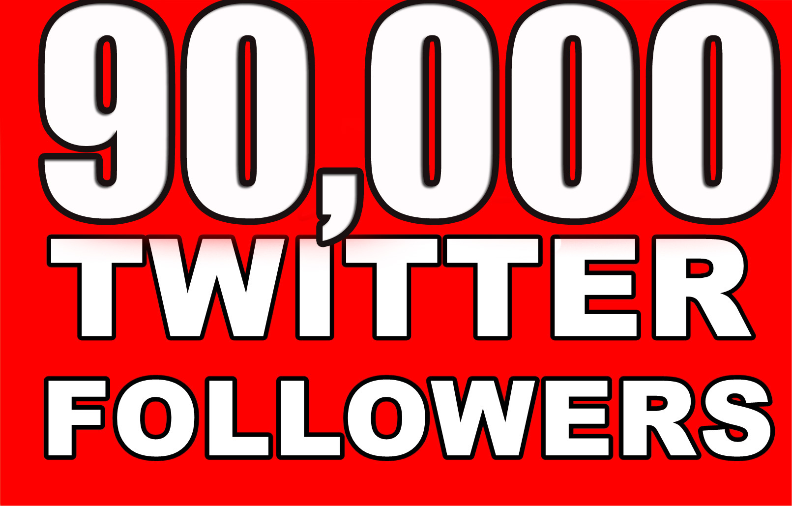 90,000+ High Quality Twitter Followers