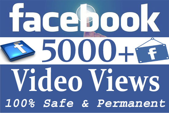 give 5000+ Facebook video views