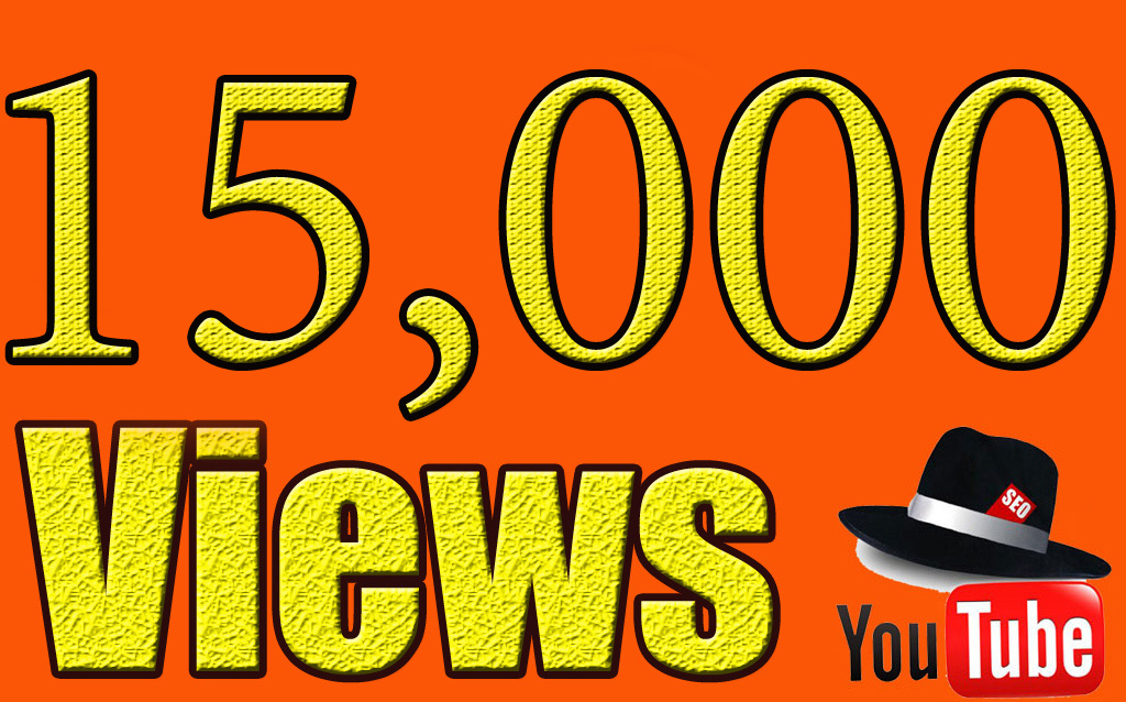 Add 15,000 High Quality Safe Views instant start now