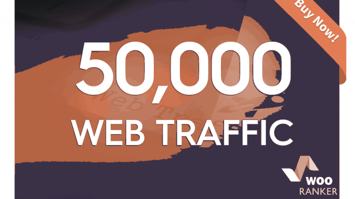 drive 50k web traffic to your website, blog or affiliate link