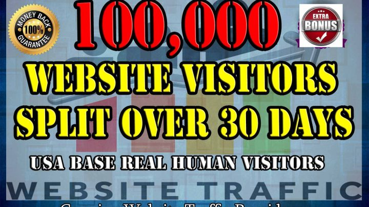 I will drive 100,000 keyword targeted website traffic