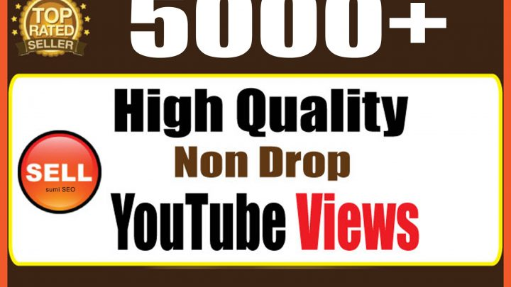 Instant 5000 Youtube safe High quality views