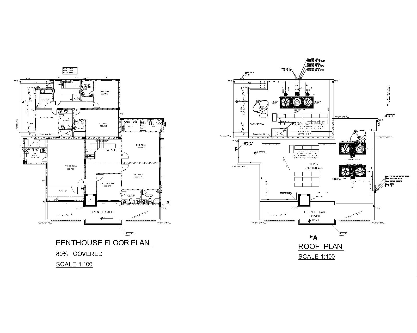 Design Plumbing Drawings Water Supply and Drainage Layout