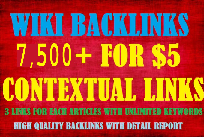 build google booster wiki articles contextual backlinks
