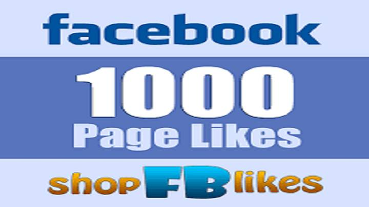 Get 1,000 Facebook Likes Real and Active