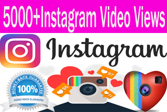 add 5000 Instagram Video Views Guaranteed