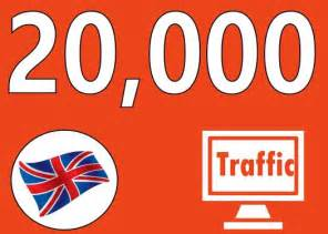 Drive 20k UK traffic to your website, fast delivery
