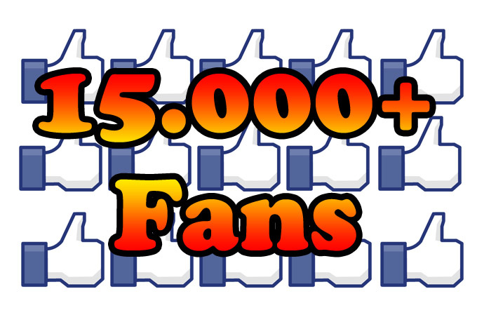 Give 15,000 Facebook Fanpage likes