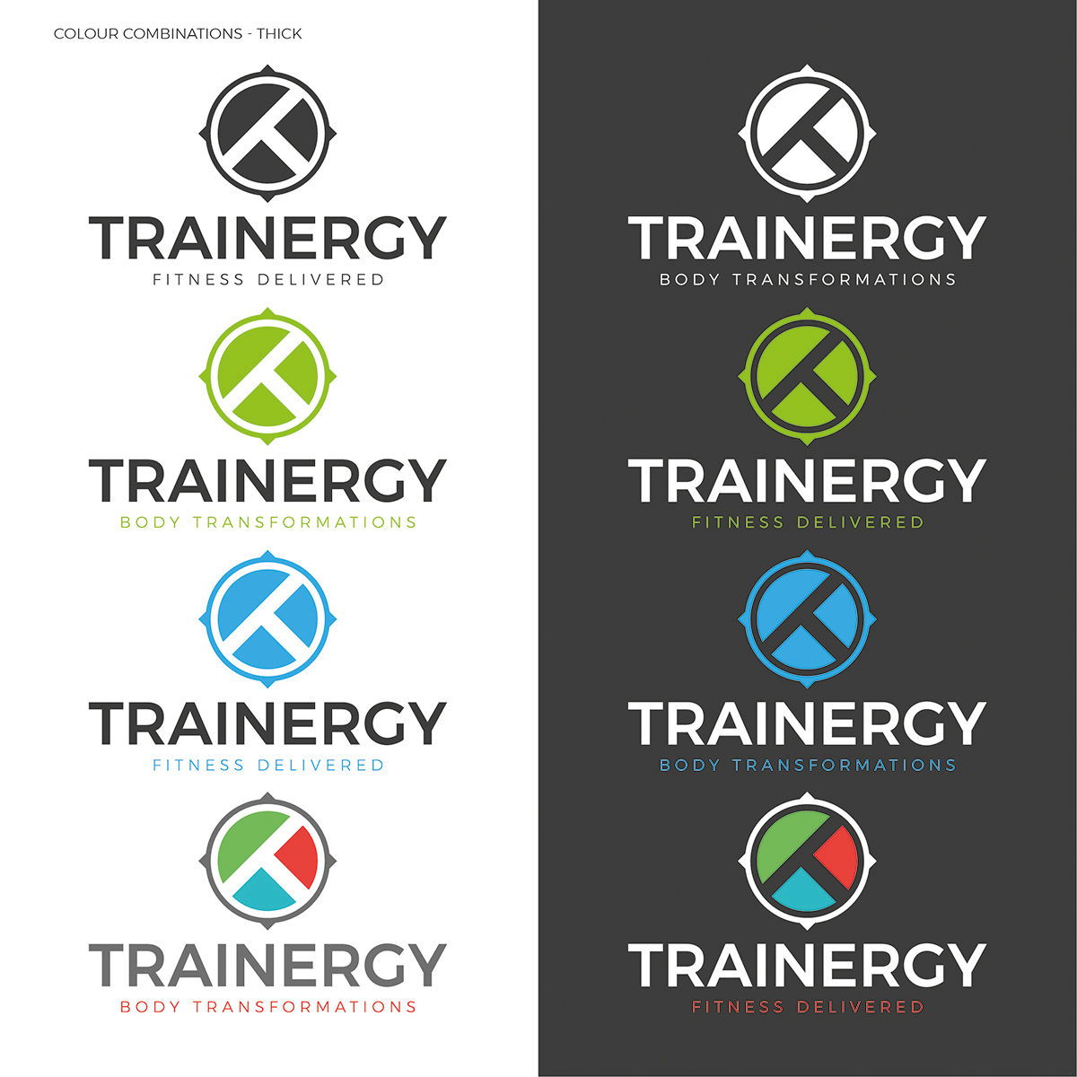do Design three Minimalist Flat Logo for you only