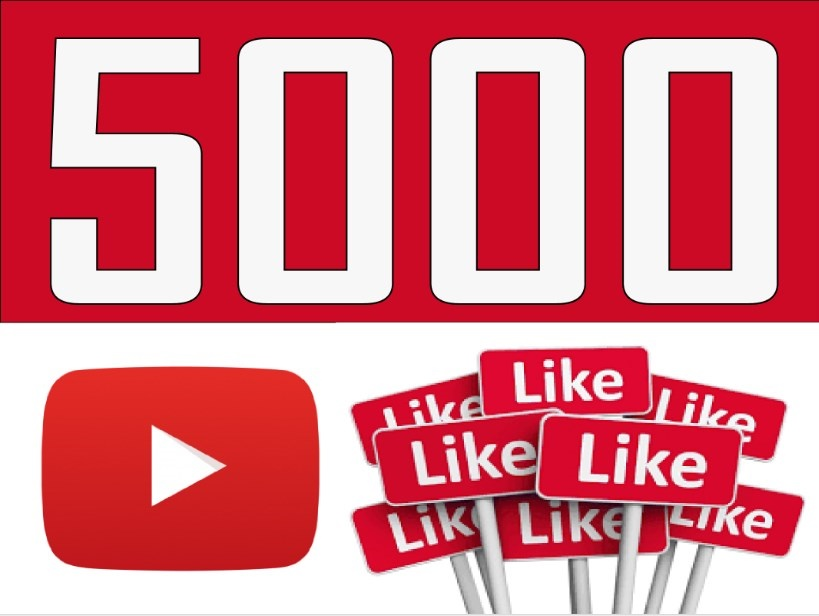 give 5000 youtube likes and 5000 youtube views