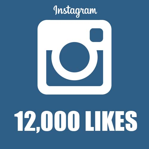 give 12,000 12k instagram likes