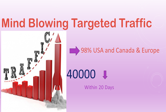 Give Mind Blowing Targeted Traffic