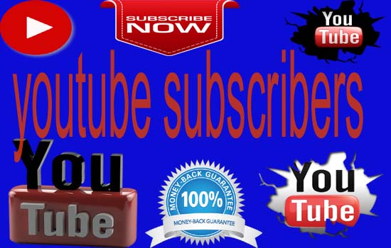 give you real 300+youtube subscribers