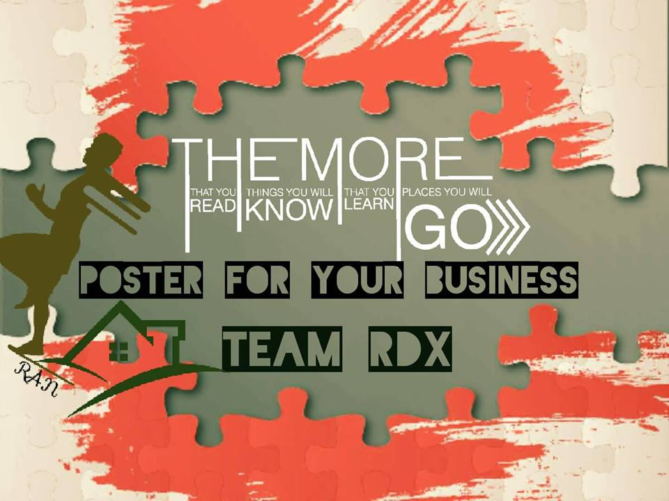 Design Premium Poster For Your Business