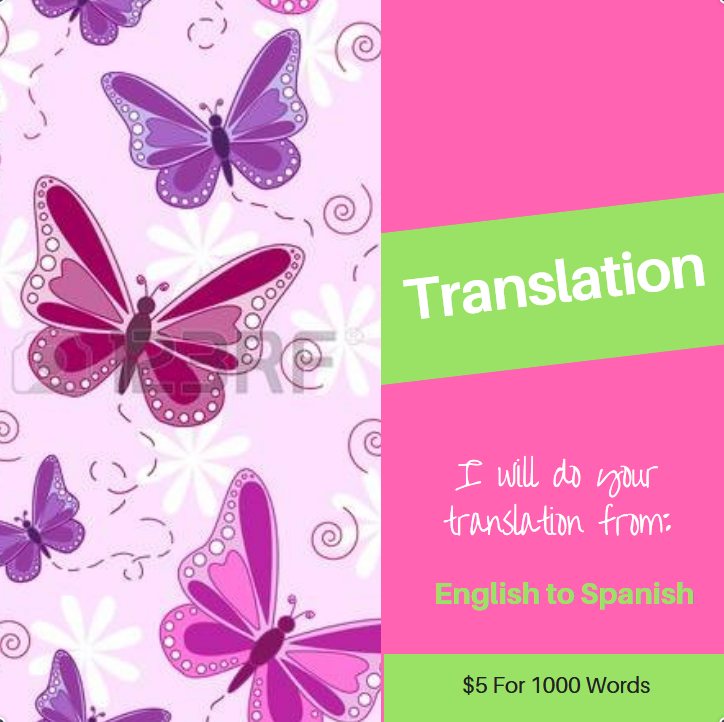do translations from ensglish to spanish in less that 24h