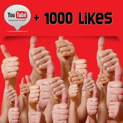 give 1000 youtube likes and 1000 youtube views
