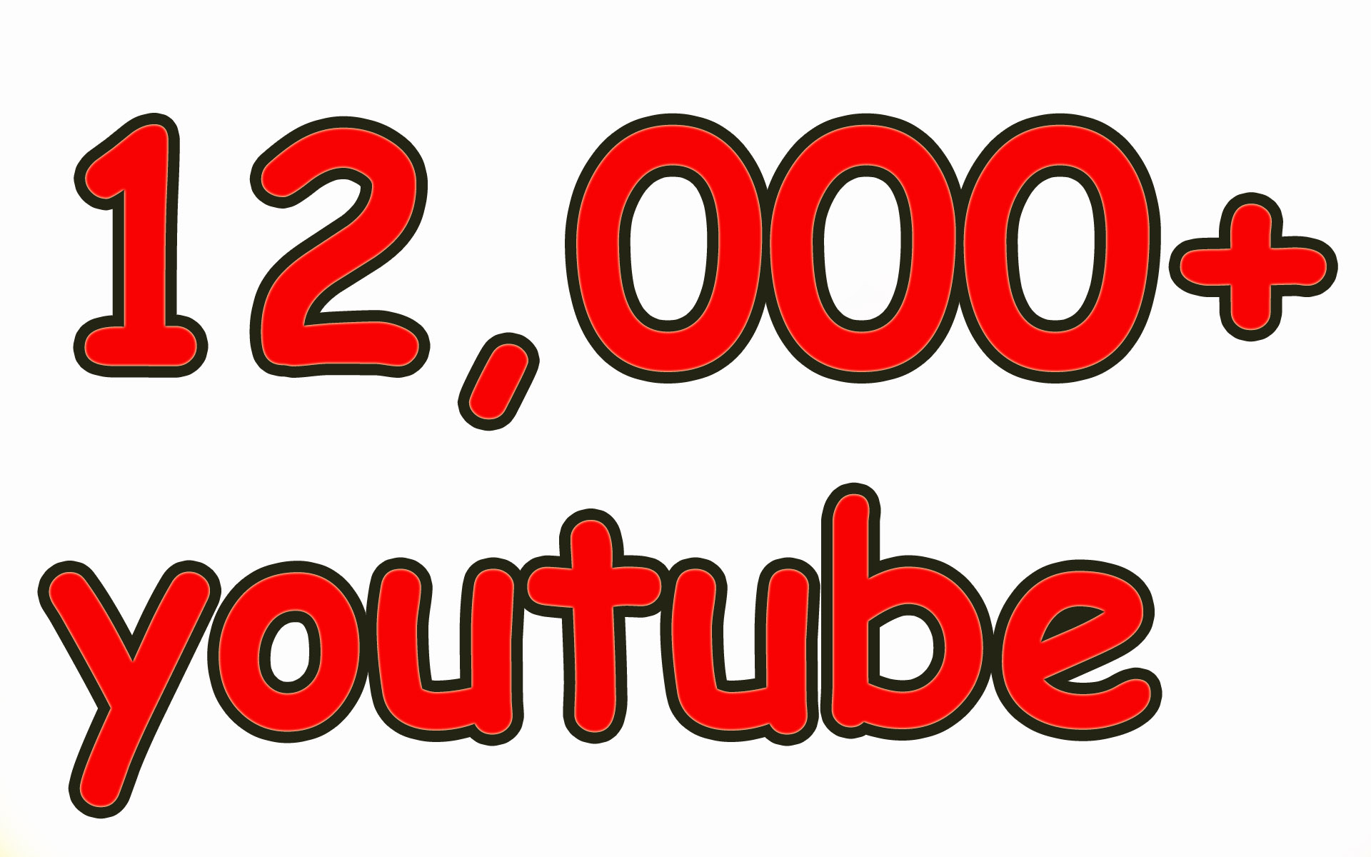 12,000Youtube Viewers High Retention Promotion Only