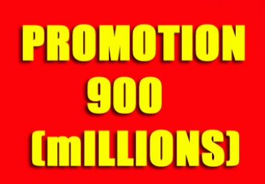 promote your business, shop, app, website,book, article to 900 million people