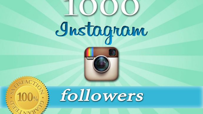 give you 1000 Real and active instagram follwers