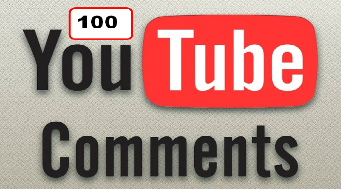 YouTube Custom 100 Comments in Your Video only