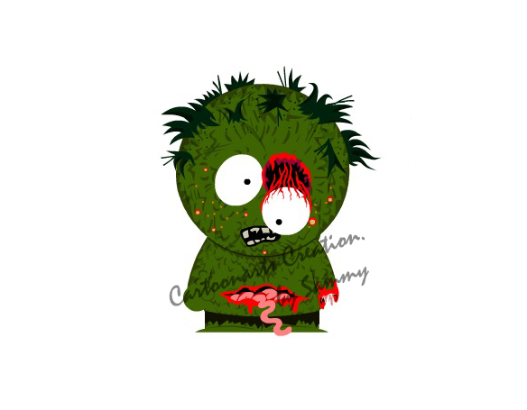 turn you into a zombie south park