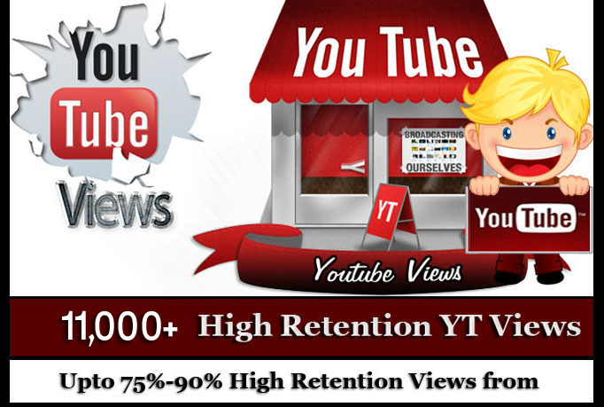 Add 8000+ High Quality YouTUbe Views Fully safe