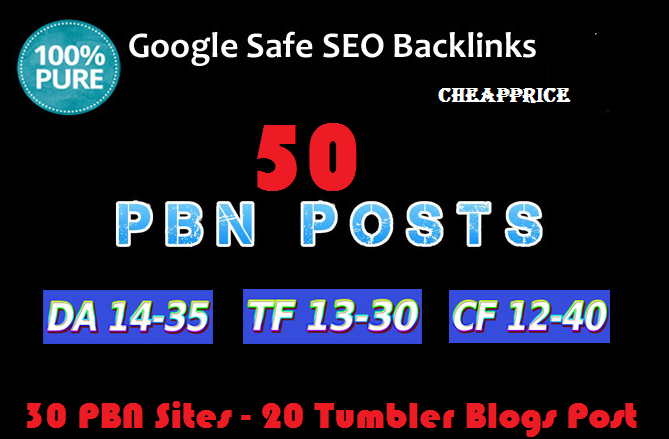 Do 50 High Quality Dofollow Pbn Backlinks