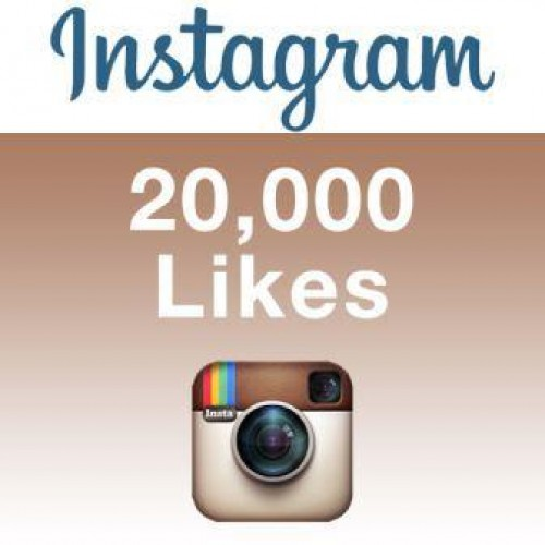give 20,000 instagram likes