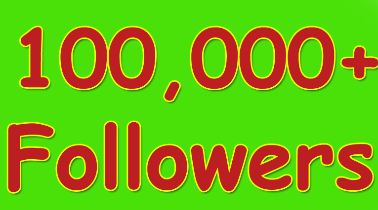 100,000 Nondrop Real Twitter followers for your twitter account