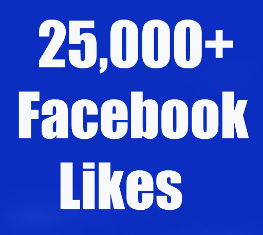 I will give 25,000+ Real Facebook Page likes Non Drop in 24 Hours! -Great Service – Fast Delivery – High Quality – 100% SAFE