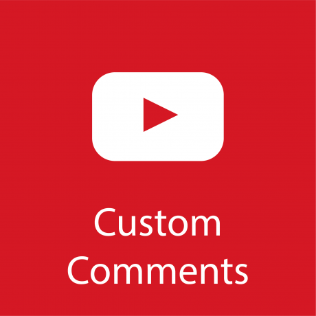 give 25 custom youtube comments