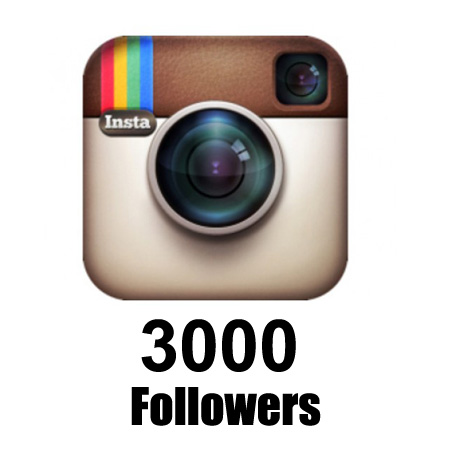 give you 3000+ Instagram Followers [High Quality] for $5