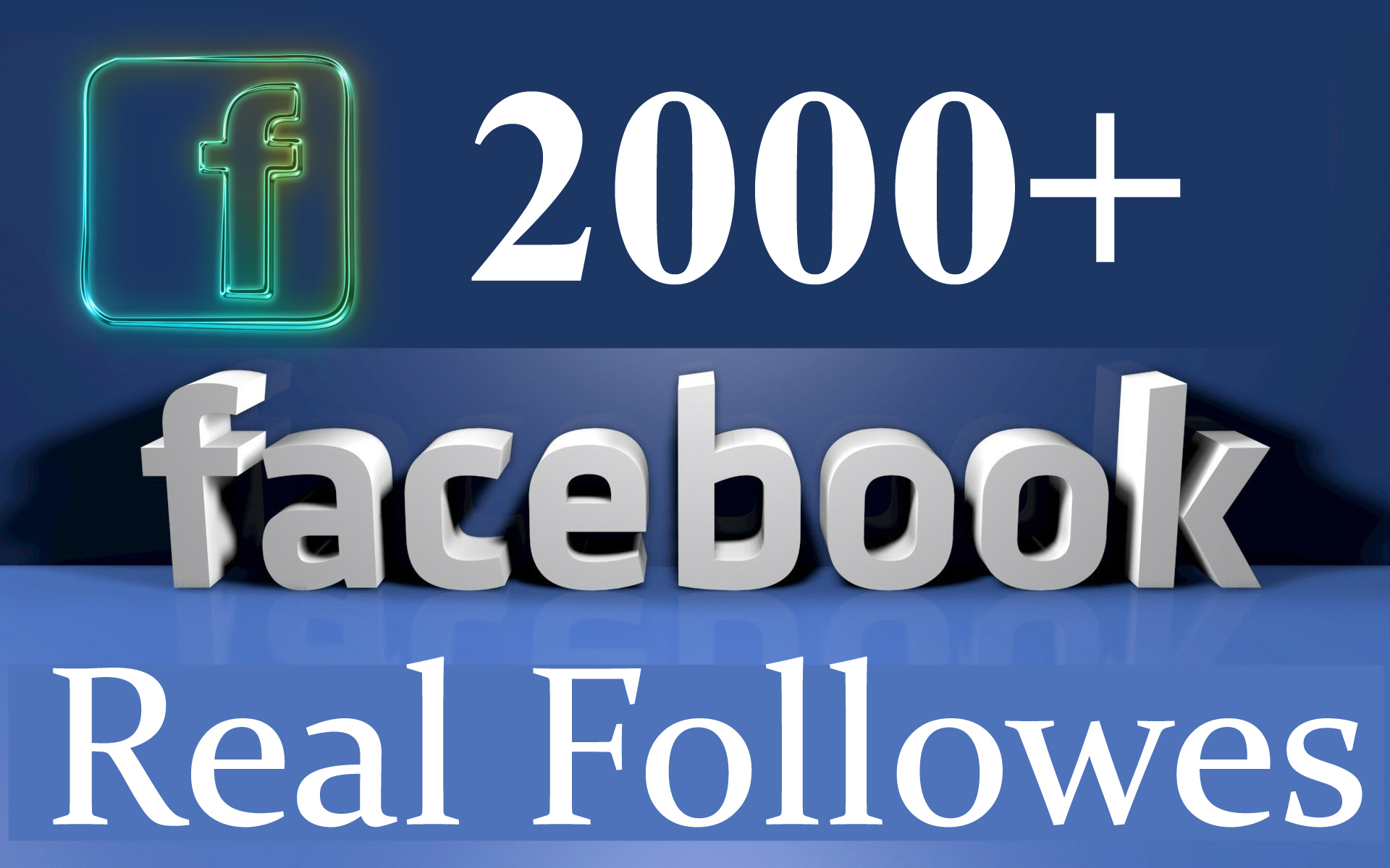 provide 2000 Facebook Real and Active Followers