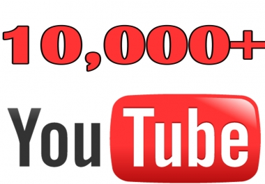 give 10,000 youtube views