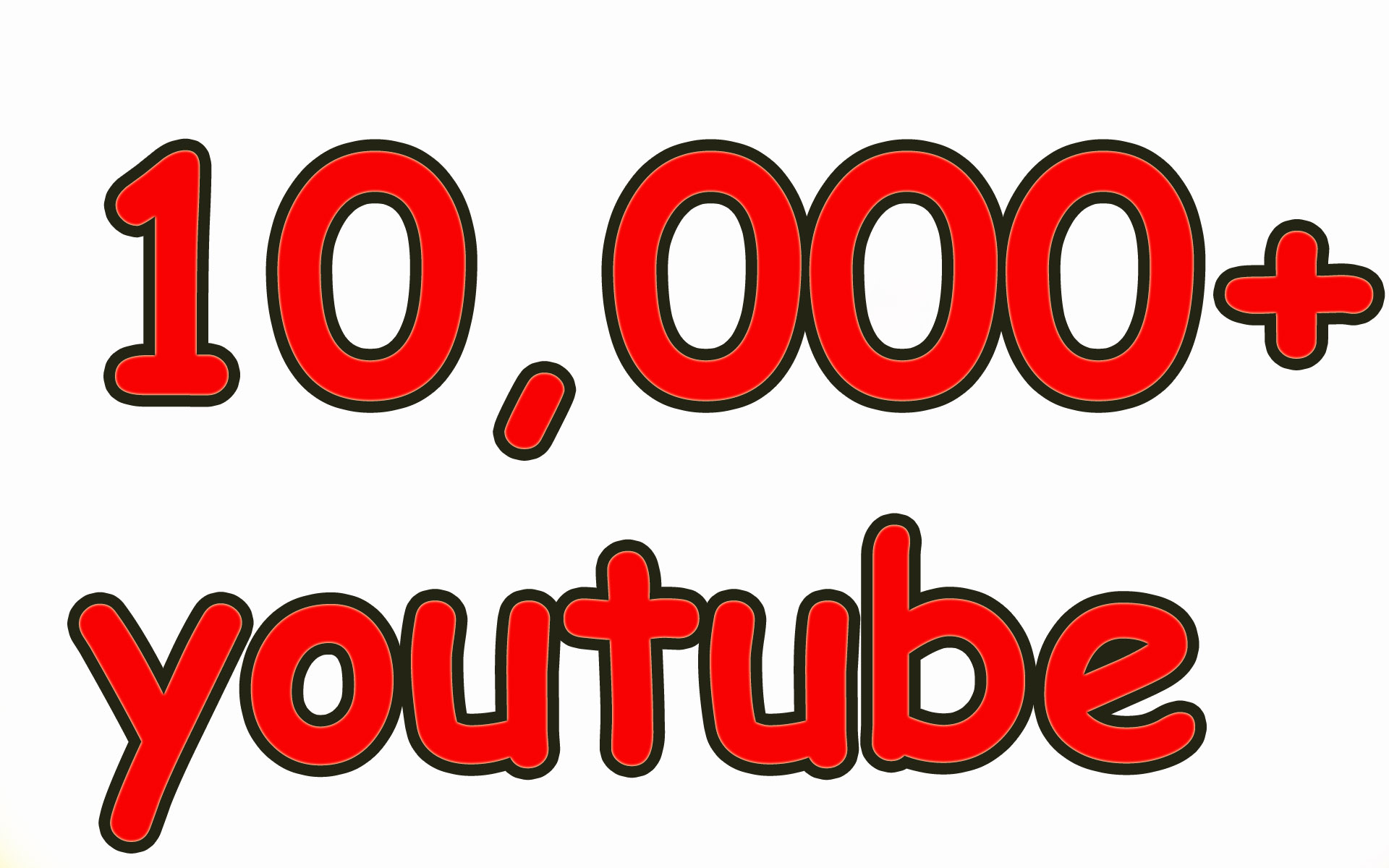 Get 10,000 HIGH QUALITY YouTube Video Views