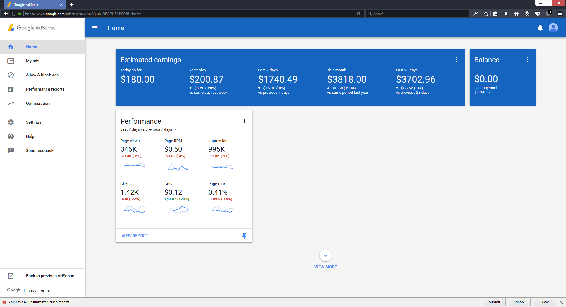 sell method to make $3000 with adsense per month.