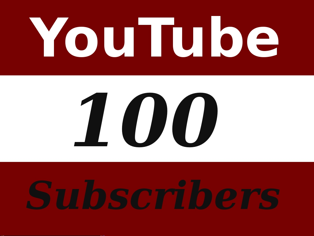 give you 100 plus real youtube subscribers fast